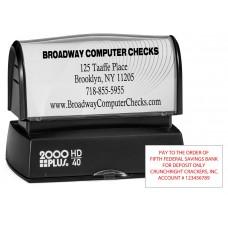 Endorsement Stamp