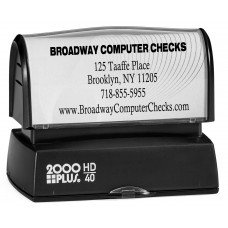 Name & Address Stamp